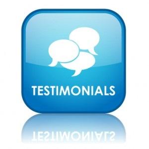 Finances - Testimonials