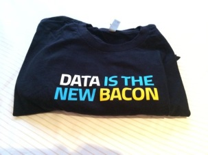 Data is the New Bacon T Shirt