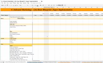 Offer - ULTIMATE Inbound Marketing Implementation Worksheet