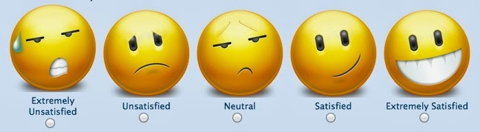 Satisfaction Emoticons