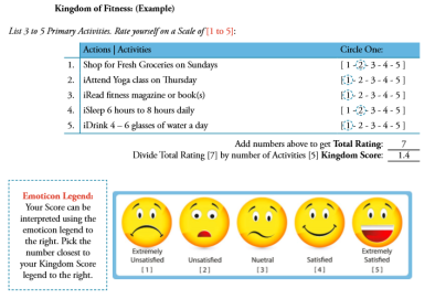 Screenshot - Kingdom of Fitness Example