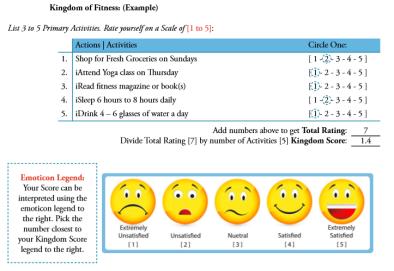 Screenshot - Kingdom of Fitness Example