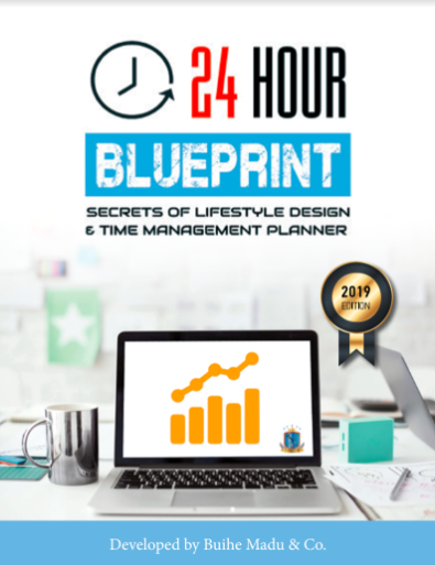 24 hour blueprint 2d planner cover