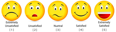 emoticons raiting with no's