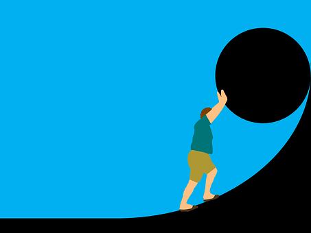 Sisyphus illustration
