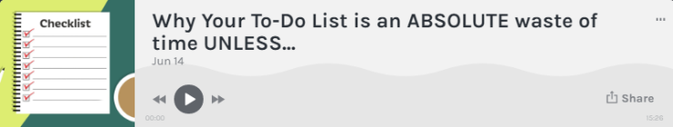 Graphic - Why To-Do Lists Are a Waste of Time