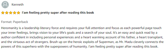 Testimonials - Amazon Screenshot - Kenneth 112413