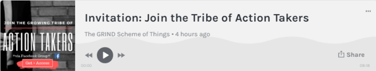 Join the Tribe - Podcast Thumbnail