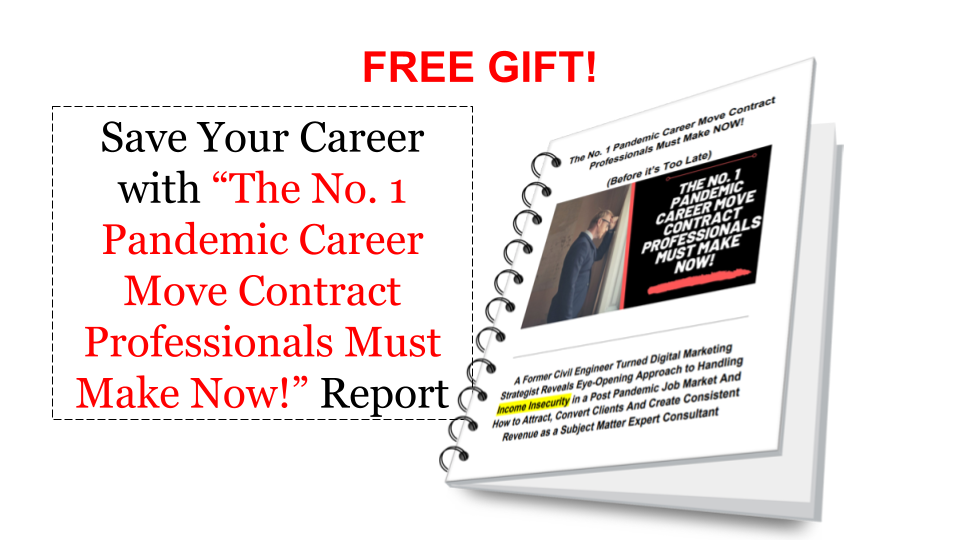 Thumbnail - Free Gift PDF Report - The No. Pandemic Career Move